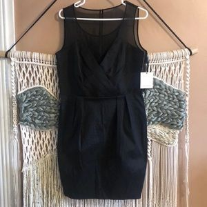 NWT Calvin Klein cocktail black dress